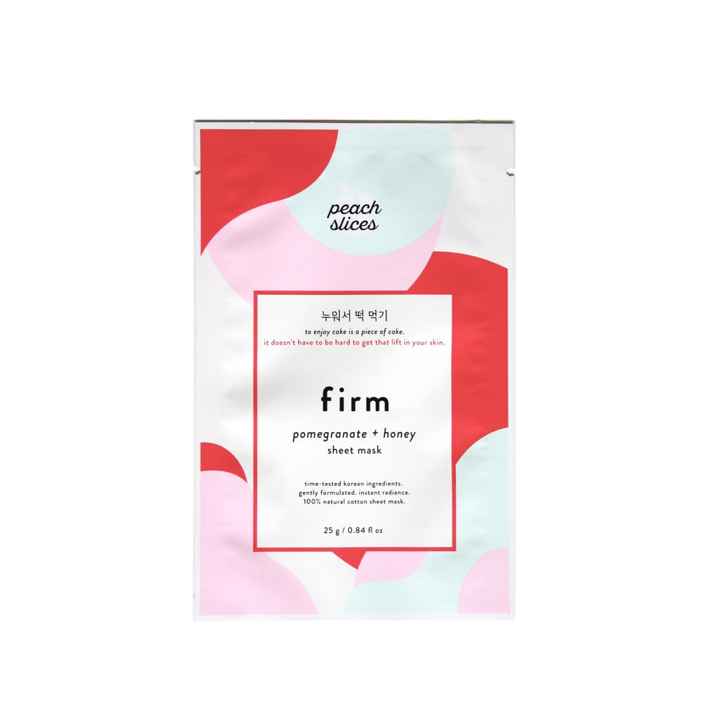 Peach slices Firm Mask