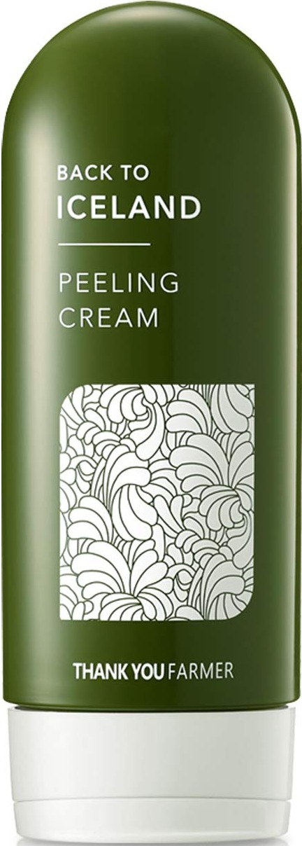 Thank You Farmer Back To Iceland Peeling Cream | Exfoliating, Natural Cellulose