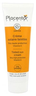 Placentor Végétal Tinted Sun Cream Face Neck Neckline SPF 50