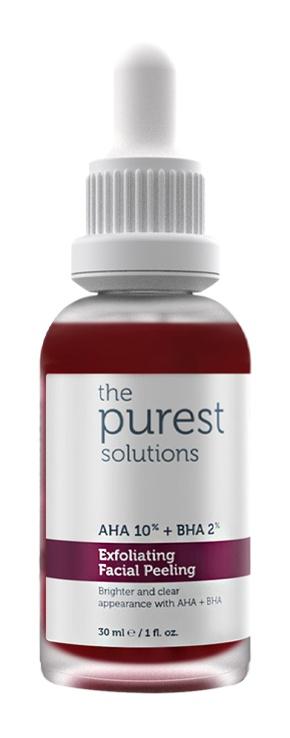 The Purest Solutions Aha %10 Bha %2 Exfoliating Facial Peeling