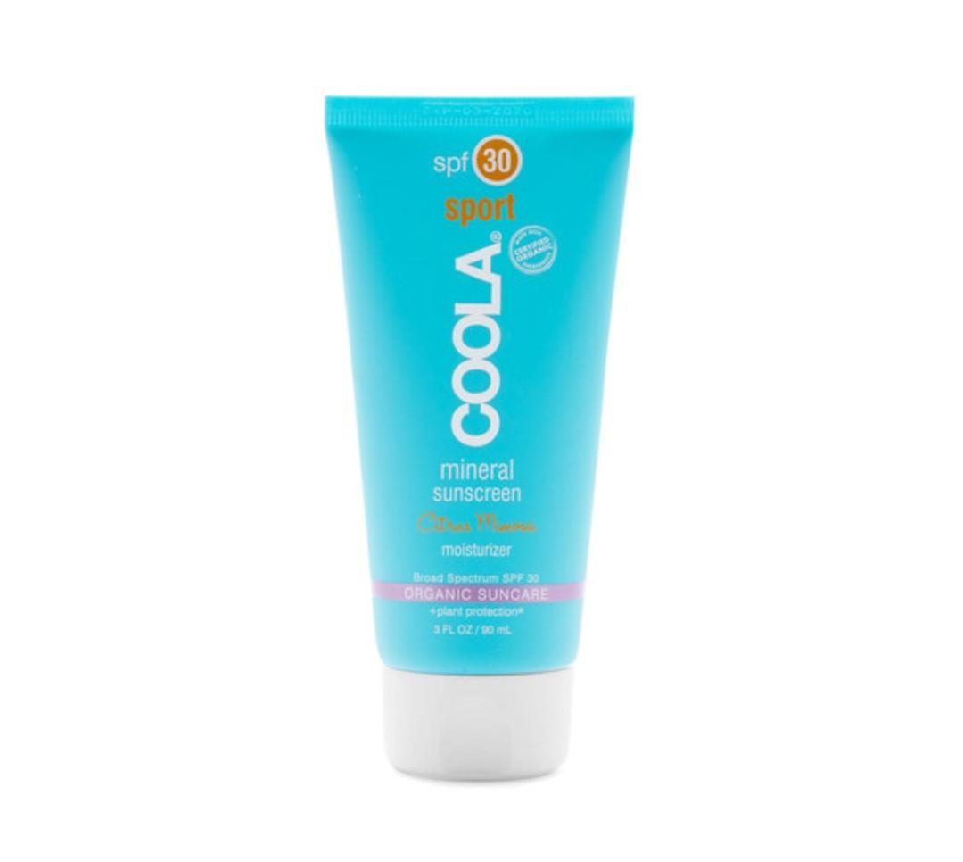 Coola Mineral Sport Sunscreen Moisturizer Spf 30 - Citrus Mimosa