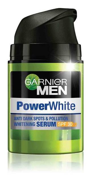 Garnier Men Power White Whitening Serum SPF30