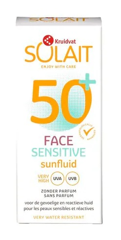 Solait Face Fluid Sensitive 50+