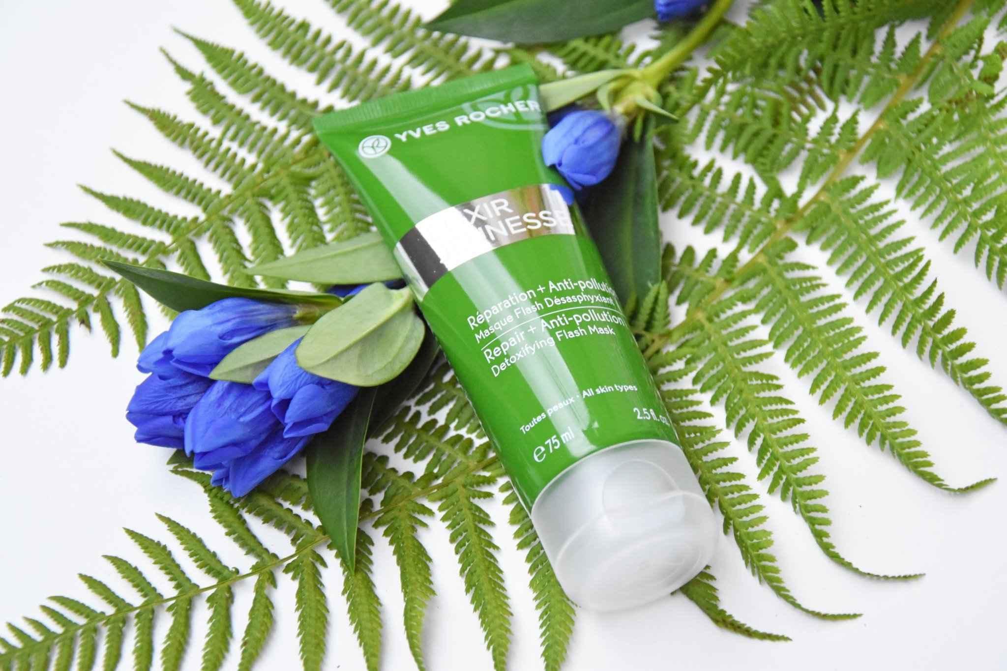 Yves Rocher Elixir Jeunesse Repair + Anti-Pollution Express Detox Mask