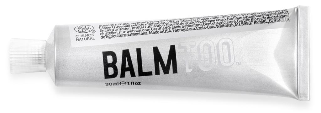 Hurraw! Unscented Balmtoo