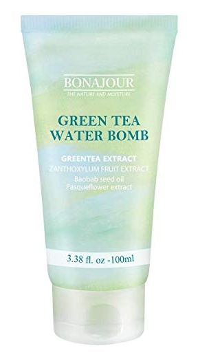 BONAJOUR Green Tea Natural Moisturizing Cream