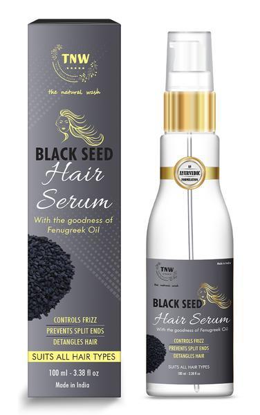 The Natural Wash Black Seed Hair Serum