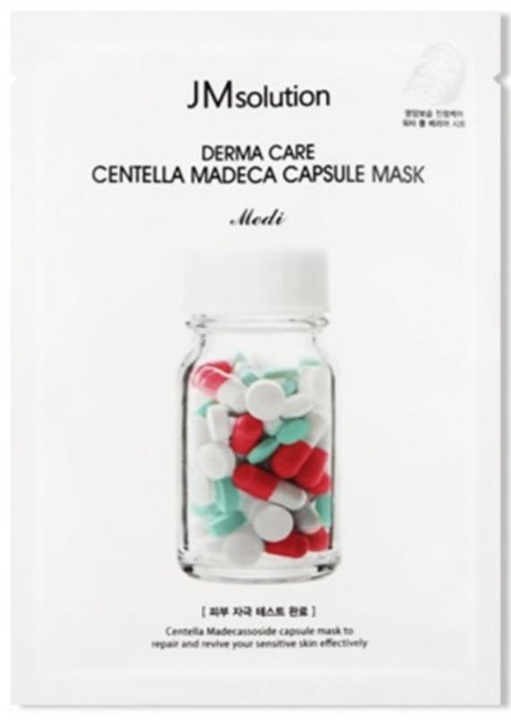 JM Solution Derma Care Centella Madeca Capsule Mask