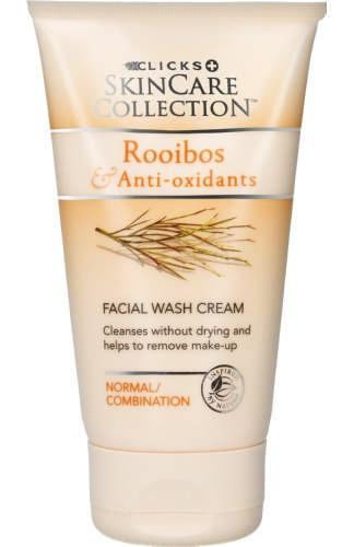 Clicks Skin Care Collection Rooibos & Anti-Oxidants Facial Wash Cream