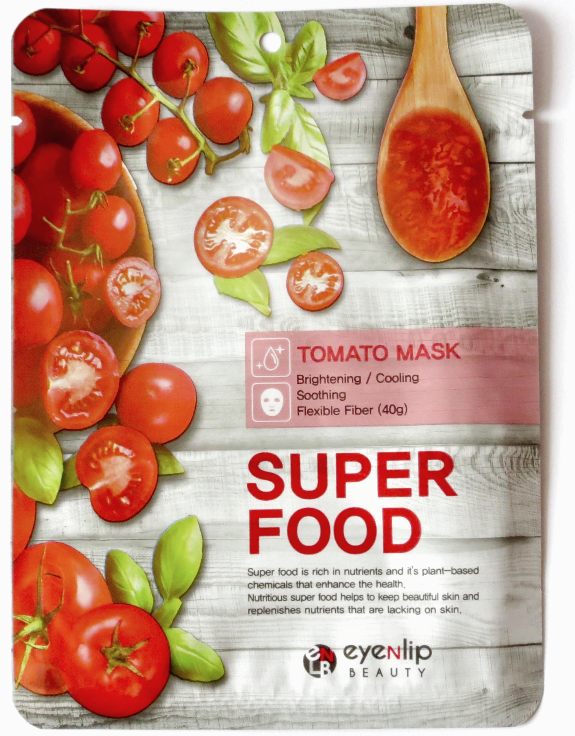 EyeNlip Super Food Mask Tomat