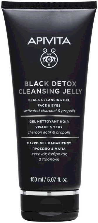 Apivita Black Detox Cleansing Jelly