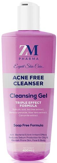 ZM Acne free cleansing gel