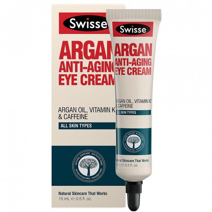 Swisse Argan Anti-Aging Eye Cream