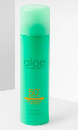 Holika Holika Aloe Ice Cooling Sun Spray Spf50+