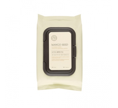 The Face Shop Mango Seed Cleansing Wipes