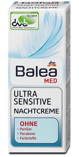 Balea Med Ultra Sensitive Nachtcreme