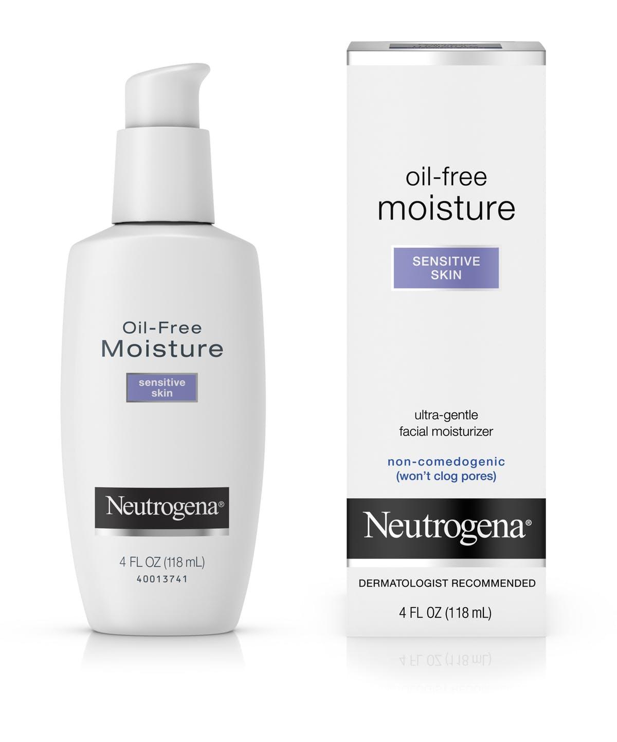 Neutrogena Oil-Free Face Moisturizer For Sensitive Skin