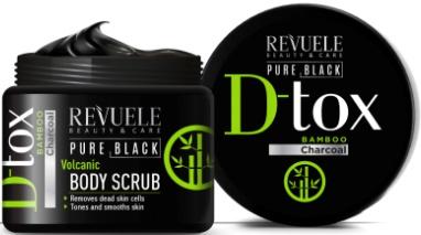 Revuele Pure Black D-Tox Volcanic Scrub