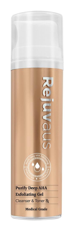RejuvAus Purify Deep Aha Exfoliating Gel Cleanser & Toner Rx