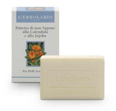 L'Erbolario Soapless Bar For Sensitive Skin