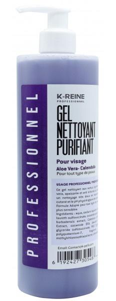 K-REINE Gel Nettoyant Purifiant Pour Visage Aloe Vera- Calendula