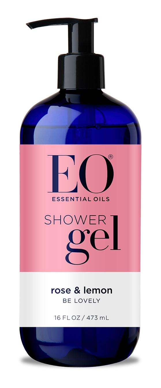 EO Products Shower Gel Rose & Lemon