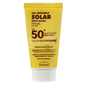 seesee Gel Facial Solar Invisible SPF 50