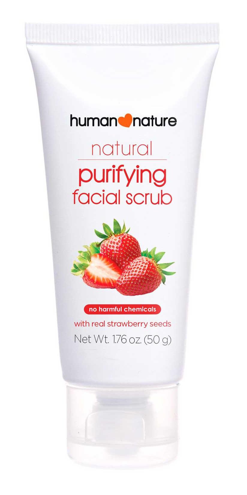 human  nature Purifying Facial Scrub