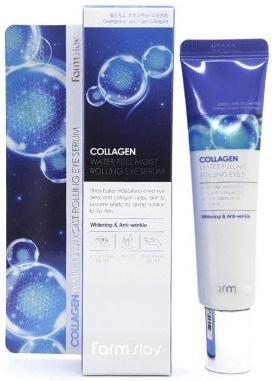 Farmstay Collagen Water Full Moist Rolling Eye Serum