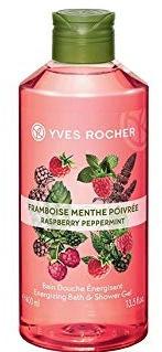 Yves Rocher Energising Bath And Shower Gel Raspberry Peppermint