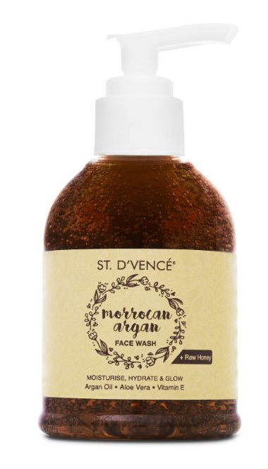 St. D'Vence Moroccan Argan Oil Face Wash With Raw Honey