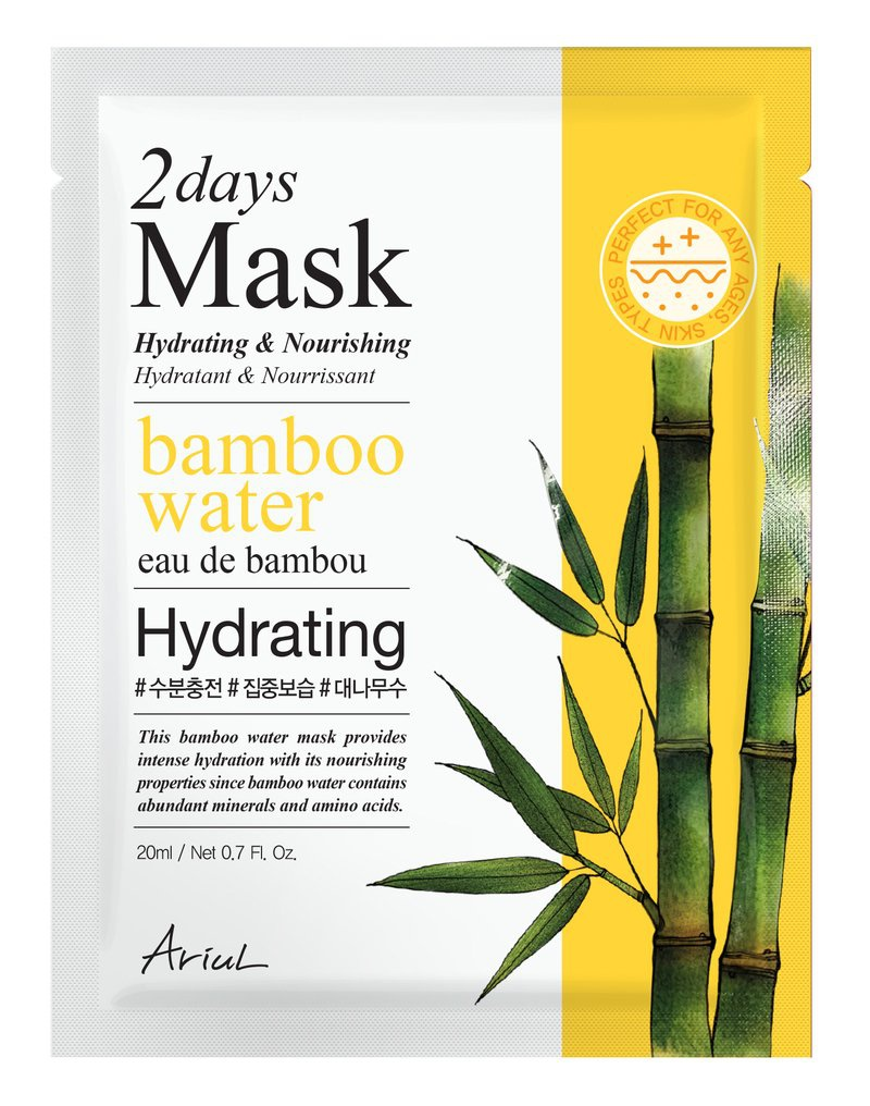 Ariul 2 Days Mask Hydrating & Nourishing Bamboo Water