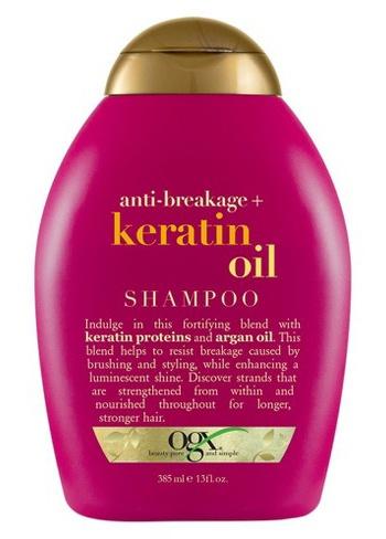 OGX Anti-Breakage + Keratin Oil Shampoo