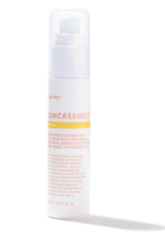 Go-To Zincredible Spf15 (Untinted)