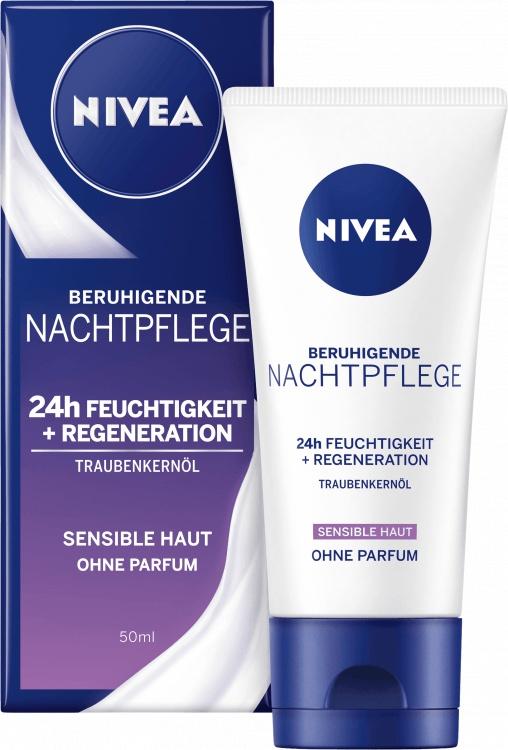 Nivea Essentials Nachtcreme Feuchtigkeit & Sensitiv