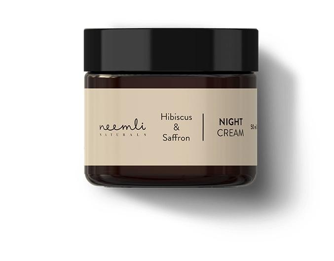 Neemli Naturals Hibiscus & Saffron Night Cream
