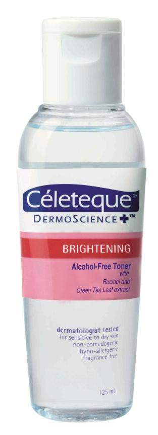 Celeteque Brightening Alcohol-Free Toner