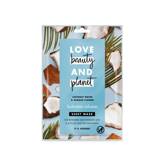 Love beauty and planet Hydration Infusion Face Sheet Mask
