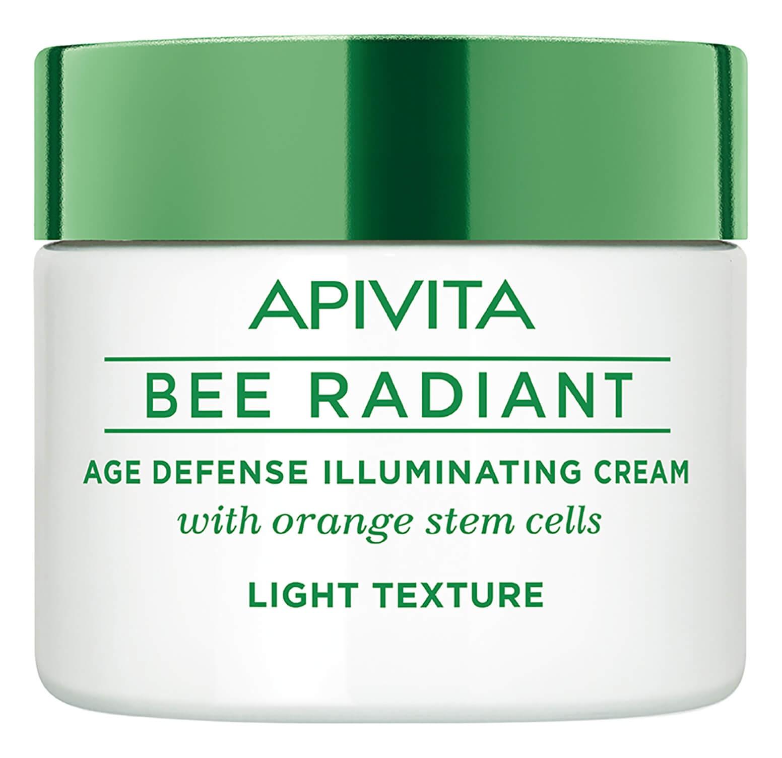 Apivita Bee Radiant Cream, Light Texture