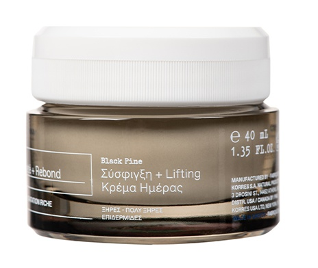 Korres Black Pine Tightening + Lifting Daytime Moisturizer Dry/Very Dry Skin