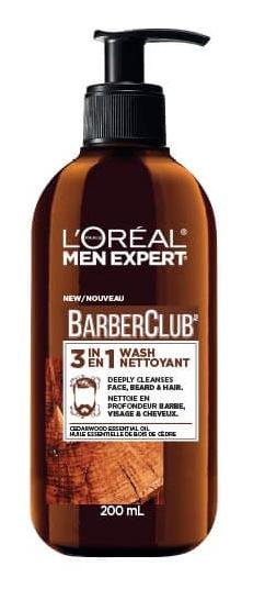 L'Oreal Barberclub 3-In-1 Beard, Face, & Hair Wash