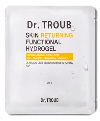 Sidmool Dr.Troub Skin Returning Functional Hydrogel Premium Mask Pack