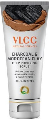 VLCC Charcoal And Moroccan Clay Deep Purifying Scrub