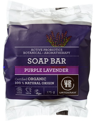 Urtekram Purple Lavender Soap Bar