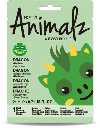 MasqueBAR Pretty Animalz Dragon Sheet Mask