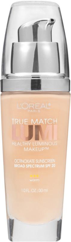 L'Oreal True Match Healthy Luminous Makeup