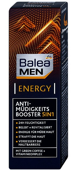 Balea MEN  5in1 Anti-Müdigkeits Booster Energy