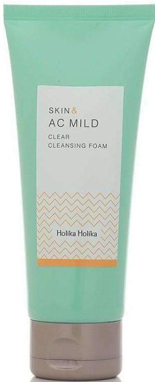 Holika Holika Skin & Ac Mild Clear Cleansing Foam