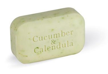 The Soap Works Cucumber & Calendula Soap