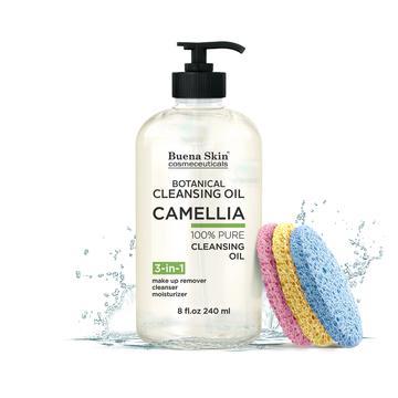 Buena Skin Cosmeceuticals Camellia Botanical Deep Cleansing Oil